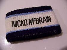 Vintage IRON MAIDEN NICKO MCBRAIN SOMEWHERE IN TIME Tour Wristband Sweat Band