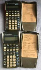 Two (2) Texas Instruments BA II Plus Financial Calculators