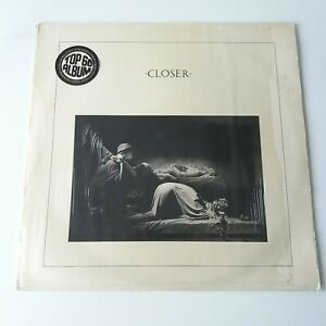 Joy Division - Closer - Vinyl LP UK 1st Press A-1/B-1 Ruby Red In Shrink