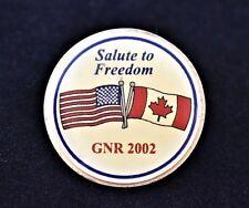 Guns N' Roses Salute to Freedom GNR 2002 Lapel Collar Coat Sweater Tie Pin Tack