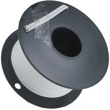 10 Meter Lautsprecherkabel 2 x 0,75mm² weiß auf Spule seitliche Markierung