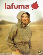 Publicité advertising 1997 Pret à porter les vestes Lafuma