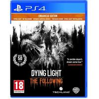 Dying Light The Following Enhanced Edition PS4 Sony Playstation 4 NEW SEALED