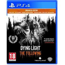 Dying Light The Following Améliorée Édition PS4 Sony Playstation 4 Nouveau