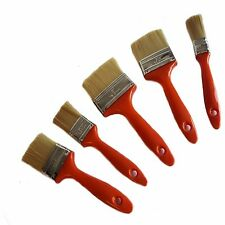 Neilsen 5 Piece Paint Brush Set Gloss Emulsion Painting Varnish DIY House 22c