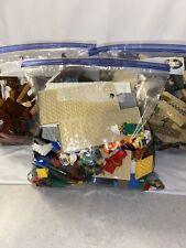 3x 1 Gallon Bag Of Assorted Legos And Mini Figures ~3.5+ lbs~