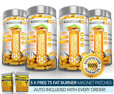 X4 la Curcuma estratto di curcumina-più Forte Legale 14,000 mg capsule-Antiossidante