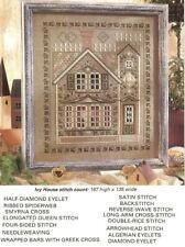 Victorian House - Cross Stitch/Needlepoint/Hardan ger Pattern Only Gu - Rus