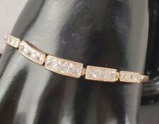 BRAND NEW BEAUTIFUL ZIRCONIA AMERICAN DIAMOND CLASP BRACELET