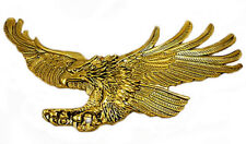 Screaming Eagle emblem, Antique gold-Left 7 ""
