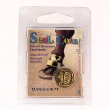 Manuscript Decorative Wax Sealing 18mm Coin Seal - Initial D