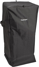 """Vertical BBQ Grill Cover For Cuisinart COS-244 36"""" & COS-330 30"""" Propane Smokers"""