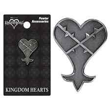 SPILLA KINGDOM HEARTS 2 KEYBLADE HEARTLESS COSPLAY SORA DISNEY RIKU PIN BADGE #1