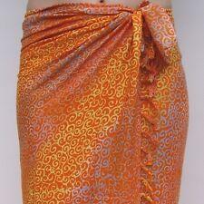 SA361P Sarong Premium Qualität Pareo Tuch Wickelrock Wandbehang Sari Sarongs