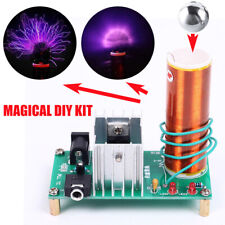 DIY 15W Mini Tesla Coil Plasma Speaker Set Electronic Field Music Project Parts