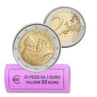 Originalrolle 25 * 2 Euro San Marino 2020