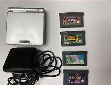 Nintendo Game Boy Advance SP Graphite Handheld System