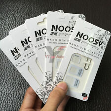 5PCS Nano SIM Card to Micro Standard Adapter Converter Set For iPhone Samsung