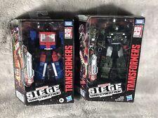 Transformers SIEGE War for Cybertron CROSSHAIRS & HOUND * SET OF 2, Hasbro