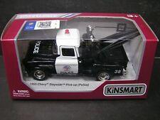 Kinsmart 1:32 DieCast model police car - 1955 Chevy Stepside Pick -up