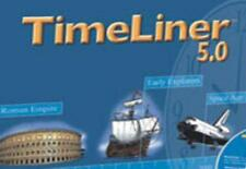 TimeLiner 5: Ready-Made Time Lines Pc Mac Cd world history science technology +