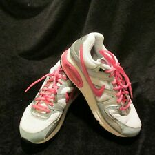 Ladies  Air Max Tennis Shoes 5Y Pink Silver White