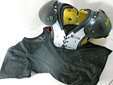 Riddell X-Force2 Ii Youth Football Shoulder Pads w/ Net Shirt *Size Worn off
