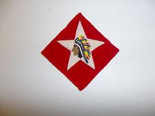 b0675 WW1 USMC 1-6th Marine Regiment atchd 2 division Indian Chief velvet R5C