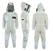 3 Layer Beekeeping Suit Ventilated Ultra Bee Suit  Beekeeper Suit Astronaut Veil