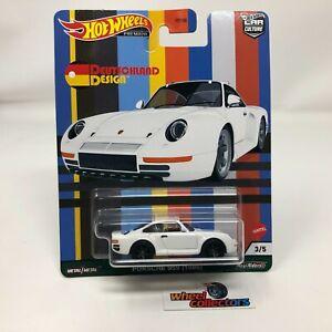 Porsche 959 1986 * DEUTSCHLAND DESIGN Hot Wheels Car Culture Case C IN STOCK