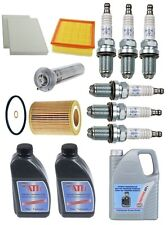 BMW E39 530i 525i 01-03 Premium Tune Up Kit Filters & Spark Plugs & With Oils