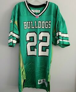 VTG 1996 Champion New York Jets Authentic Game Issued Bulldogs 22 Jersey 48