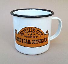 Emaille emallierte Tasse 8 cm Kaffeebecher Emailbecher