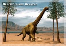 BRACHIOSAURUS BRANCAI - 3D Lenticular Animated Postcard Greeting Card-Dinosaur