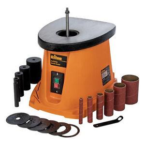 Triton 450W Oscillating Spindle Sanding Sander - Cast Iron Table - TSPS450