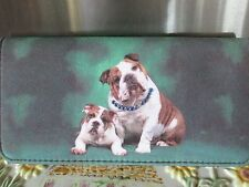 """BULLDOG~ """" CHIP OFF THE OLD BLOCK """"    CLUTCH WALLET"""