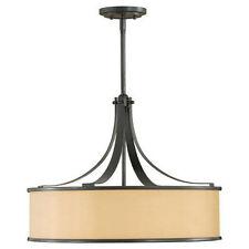 Feiss F2343/4DBZ Dark Bronze Casual Luxury 4 Light Large Foyer Pendant