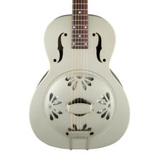 More details for gretsch g9201 honey dipper resonator guitar, shed roof finish (new)