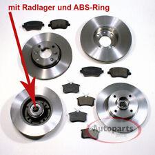 ABS-ring rodamiento de ruedas completo atrás citroen Frenos freno frase set kit bremsenset