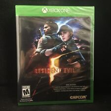 Resident Evil 5 (Microsoft Xbox One, 2016) BRAND  NEW / Region Free