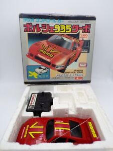 Vintage 80's Asahi Atcomi Japan 1/20 Porsche 935 RC Car Taiyo Nikko Shinsei