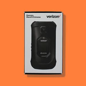 NEW VERIZON KYOCERA DURAXV EXTREME E4810 16GB FLIP SMARTPHONE LTE HOTSPOT GPS