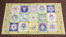 Benartex - Winterscapes Christmas Panel - 100% Cotton - 60cm Panel