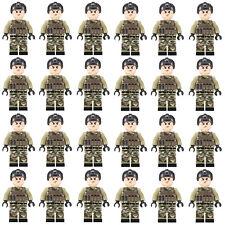 24pcs LEGO CUSTOM SWAT Team Minifigures Men Figures Army Police Squad Military