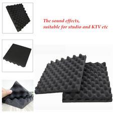10Pcs 50X50X3cm KTV Acoustic Foam Egg Studio Car Sound Proofing  Absorption