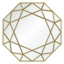 Ren-Wil Deloro Mirror, Brushed Gold veneer - MT1649