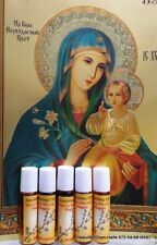 Anointing Oil 5 Roll-on bottels Blessed Myrrh scented from Jerusalem