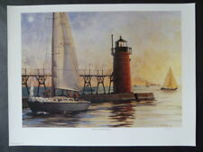 SOUTH HAVEN LIGHT great lakes series by T.P.Nagle