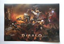 BlizzCon 2019 Diablo 14x20 Poster DEVELOPER SIGNED