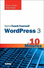 Sams Teach Yourself WordPress 3 in 10 Minutes (Sams Teach Yourself ---ExLibrary